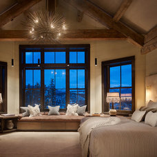 Contemporary Bedroom by Montana Reclaimed Lumber Co.