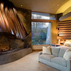 Contemporary Bedroom by Jeffrey Jurasky & Associates, Inc.