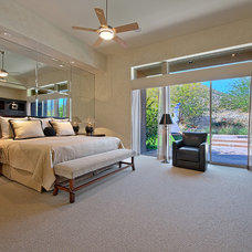 Contemporary Bedroom by House & Homes Palm Springs Home Staging