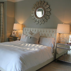 Contemporary Bedroom by Elizabeth Jewell Interiors