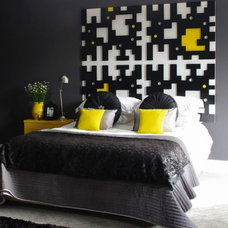 Modern Bedroom by Windsor Decorating and Design