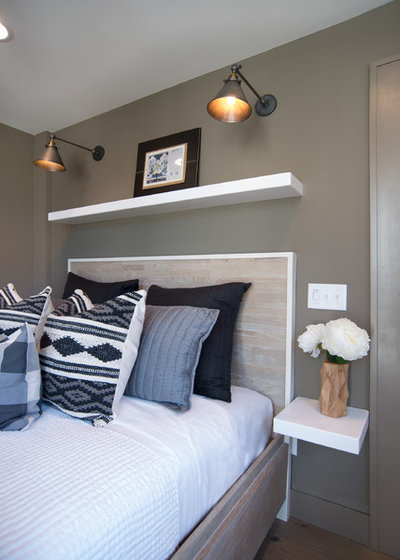 Contemporary Bedroom by Black Door Designs