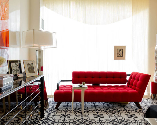 black white and red | houzz