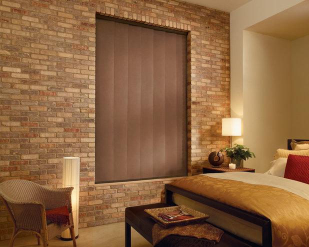 Asiático Dormitorio by Abda Custom Window Fashions