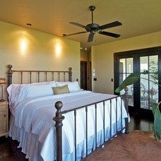 Farmhouse Bedroom by StoneHorse Design, Inc.