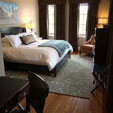 Contemporary Bedroom by Cheek Interiors