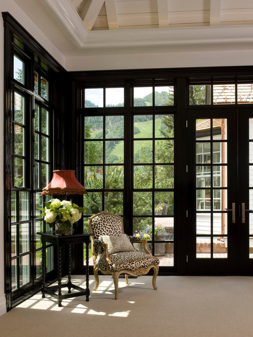 Black Painted French Doors Design Ideas Amp Remodel Pictures