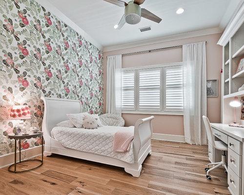 Pareti Rosa Camera Da Letto : Camera da letto american style con pareti rosa foto e idee per