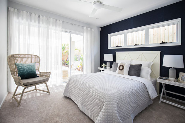Beach Style Bedroom by Issie-Mae Interior Design