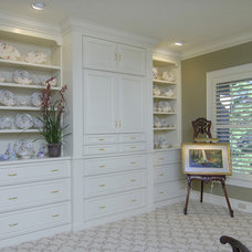 Traditional Bedroom by Precision Cabinets Inc