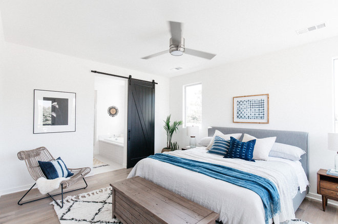Beach Style Bedroom by Madison Modern Home