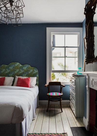 Eclectic Bedroom by Homewings