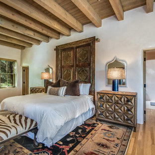 Inspiration for an eclectic bedroom remodel in Albuquerque