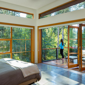 BlueLine Architects Contemporary Mountain Home