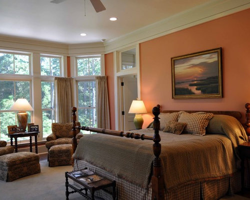 Houzz Peach Wall Color Design Ideas Amp Remodel Pictures