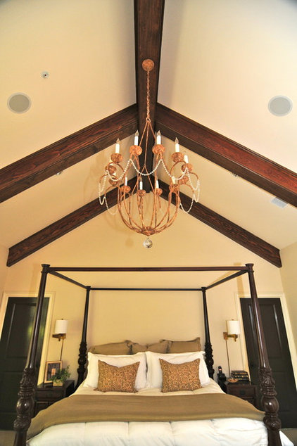 Traditional Bedroom by Valerie McCaskill Dickman