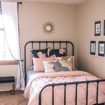 Blushing Teen Bedroom