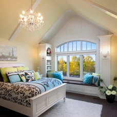 traditional bedroom by Crystal Creek Homes