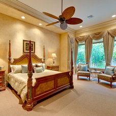 Traditional Bedroom by Captiva Design Interior Decorating & Home Staging