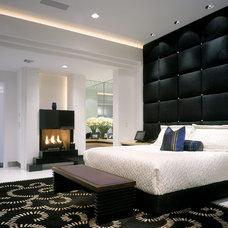 Contemporary Bedroom by Wm L Construction, LLC