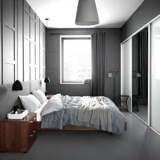 modern bedroom by BoConcept US