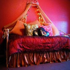 Eclectic Bedroom by Hopkins Designs