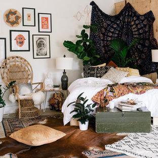 Inredning av ett shabby chic-inspirerat sovrum