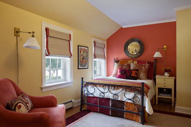 American Traditional Bedroom by B Fein Interiors LLC