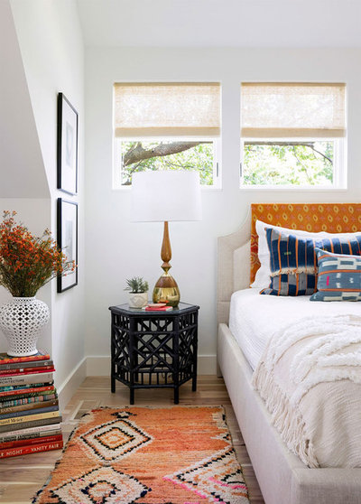 Eclectic Bedroom by Lucy Interior Design
