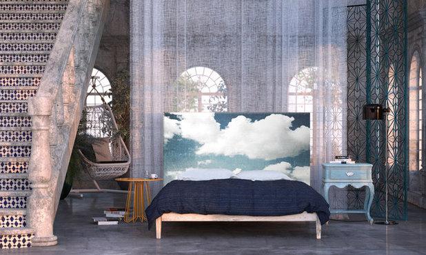 Éclectique Chambre by NOYO Home Decor