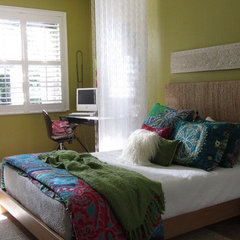 eclectic bedroom BoHo