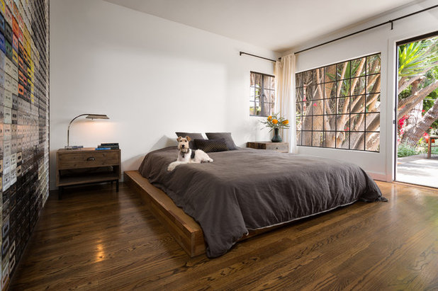 Contemporary Bedroom by Hsu McCullough