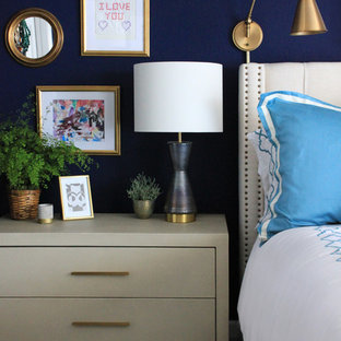 Bold & Eclectic Master Bedroom