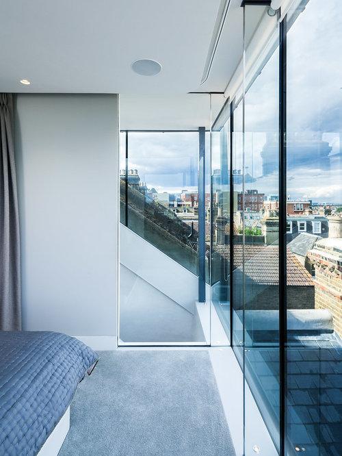 Blue bedroom design ideas renovations photos for Annmarie ruta elegant interior designs