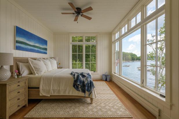 Beach Style Bedroom by Bonin Architects &  Associates