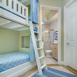 Bonita Bay FL Transitional Master Bathroom Remodel with a Bunk Room Addition