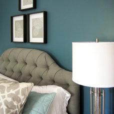 Transitional Bedroom by Julia Laura Interior Designs