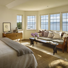 Contemporary Bedroom by DeForest Architects