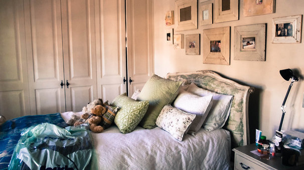 Eclectic Bedroom by Monica Kovacic
