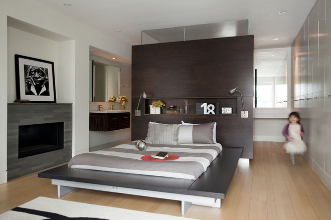 Contemporary Bedroom by Ruhl Walker Architects