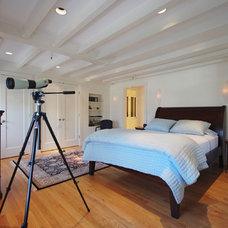 Eclectic Bedroom by Leslie Saul & Associates