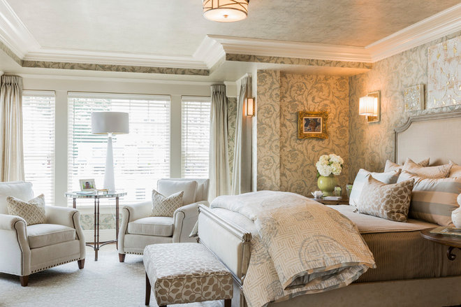 Traditional Bedroom by Landry & Arcari