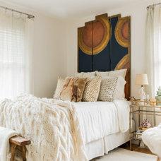 Eclectic Bedroom by Now Interior Design Studio