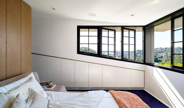 Transitional Bedroom by Luigi Rosselli Architects