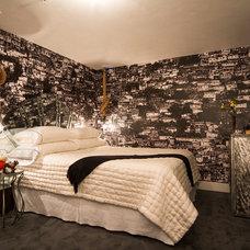 Contemporary Bedroom by Kari Whitman Interiors