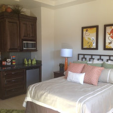 Contemporary Bedroom by boulevard home furnishings