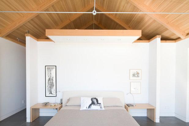 Moderno Camera da Letto by Burgers Architecture Inc.