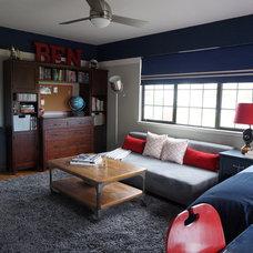 Traditional Bedroom by Alina Druga Interiors