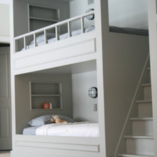 Traditional Bedroom boy bunk room