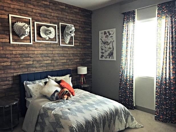 Contemporary Bedroom by Fox Den Designs, LLC